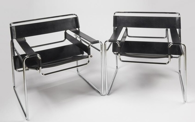 Pair of Breuer Wassily Chairs - Knoll