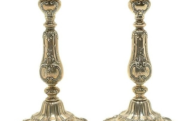 Pair of Gorham Chantilly-Grand Weighted Sterling Silver
