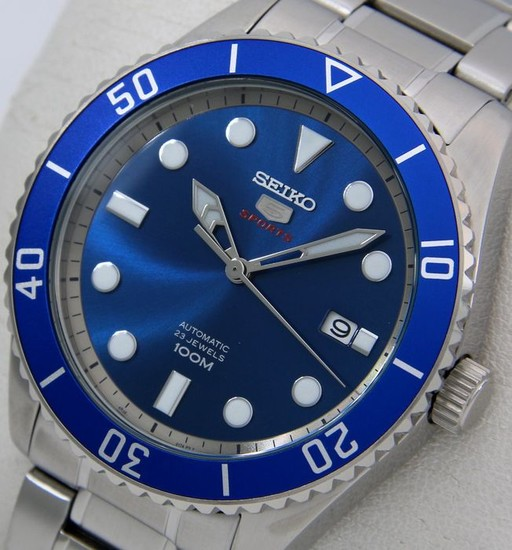"Seiko - Automatic 23 Jewels ""Blue Dial"" - - ""NO RESERVE PRICE"" - - Men - 2018"