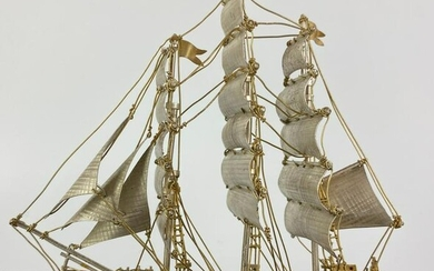 Sterling Silver Limited Edition Cutty Sark Ship