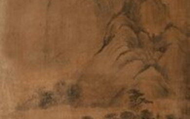 Unsigned Chinese Landscape Painting