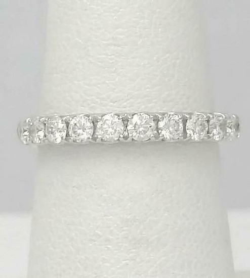 14k WHITE GOLD DIAMOND DIRECT .75ct ROUND DIAMOND