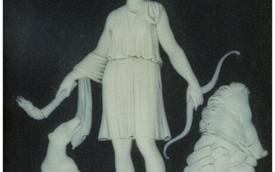 61056: A Pair of Wedgwood Basalt Plaques Depicting Arte