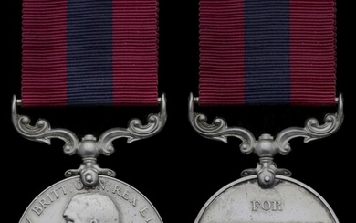 A 1918 D.C.M. awarded to Battery Quarter-Master Sergeant F. Pearcy, Royal Horse Artillery Dist...
