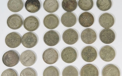 A Selection of English Silver Coinage, .50 294g, .925 33g