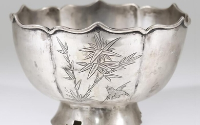 An Early 20th Century Chinese Silver Circular Bowl, with...