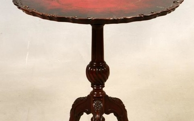 CHIPPENDALE STYLE MAHOGANY TABLE 1940