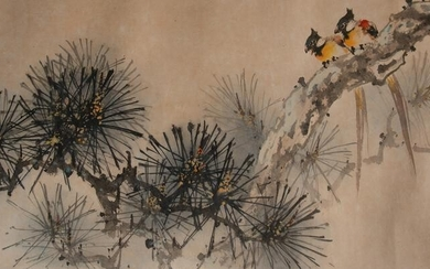 Chinese Painting of Birds by Huang Leisheng