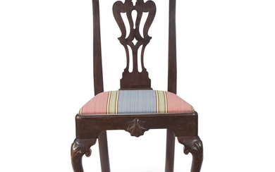 Chippendale carved walnut side chair Philadelphia, PA, circa 1765...