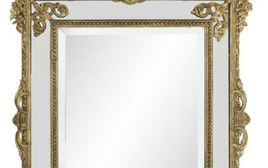 French Giltwood Mirror in the Baroque Taste