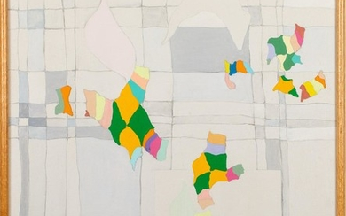 Grace Gardner, Untitled Abstract, Acrylic on Canvas E9VDL