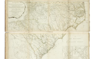 JEFFERYS, THOMAS. The American Atlas: Or, a Geographical Description of the Whole Continent of America.