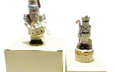 LENOX TREASURES IVORY FINE CHINA FIGURINES