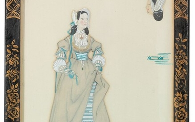 Laurence Henry Forster Irving (1897-1988), Costume design for Ophelia