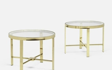 Modern, occasional tables, pair