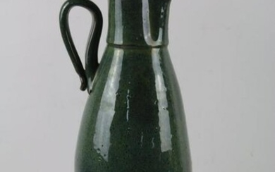 NORTH CAROLINA ANTIQUE POTTERY PITCHER SIGNED