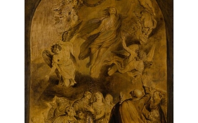 STUDIO OF SIR ANTHONY VAN DYCK (FLEMISH 1599 - 1641) THE ASCENSION