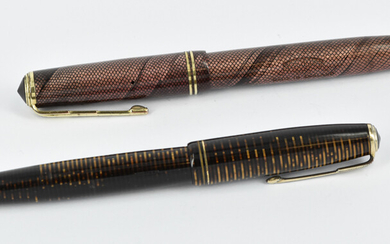 TWO FOUNTAIN PENS
