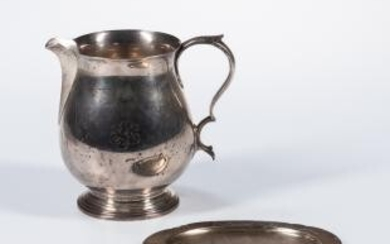 Tiffany & Co. Sterling Silver Pitcher and Dish