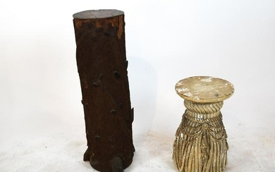 Two Sculptural Stands