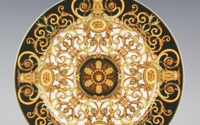 Versace Rosenthal Porcelain Charger Plate