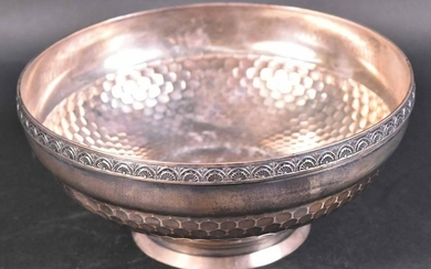 Wood & Hughes Sterling Silver Circular Bowl