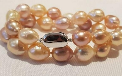 10x13mm Multi Edison Pearls - Bracelet