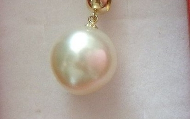 18 kt. South sea pearl, Yellow gold - Pendant