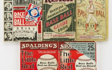 4 Early Guides Spalding and Reach