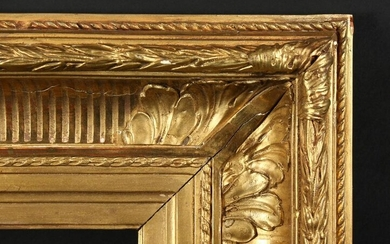 A Pair of 19th Century Gilt Composition Frames with