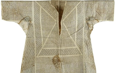A VERY RARE OTTOMAN TALISMANIC SHIRT, LATE 17TH-EARLY