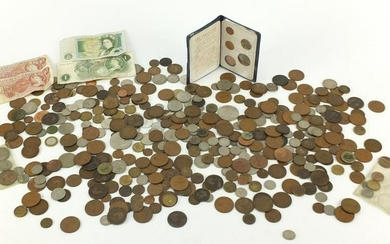 Antique and later British and world coinage and bank