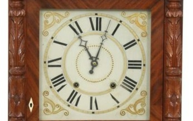 Atkins & Downs 30 Hour Carved Column Clock