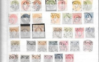Austria 1860/2000 - Complete advanced collection for many years.