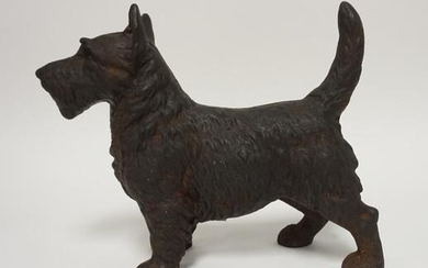 CAST IRON SCOTTY DOG DOOR STOP