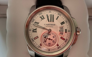 Cartier - Calibre de Cartier - W7100037/3389 - Men - 2011-present