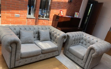 Chesterfield - Sofa and armchair