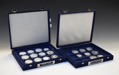 Coins - NDM Crowned Collections 'Olympic Games' silver proof...