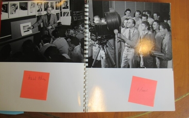Documentary Display Book Of Photography Classes, With Ansel Adams And Others In The Photography Program At The Art Center School, 1941, With Ansel Adams, Etc.