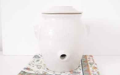 French Vintage Confit pot with lid