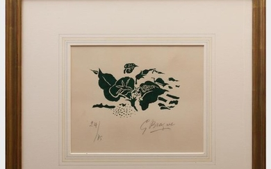 Georges Braque (1882-1963): Le Liseron Vert from