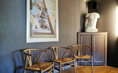 Hans Wegner - Carl Hansen & Søn - Chair (3) - Wishbone chair