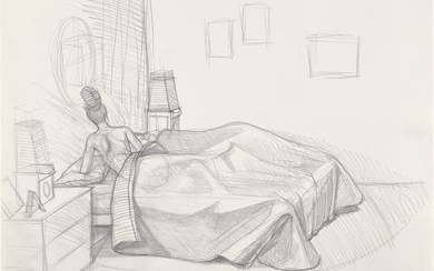 Kerry James Marshall, Preliminary Sketch for Black Painting