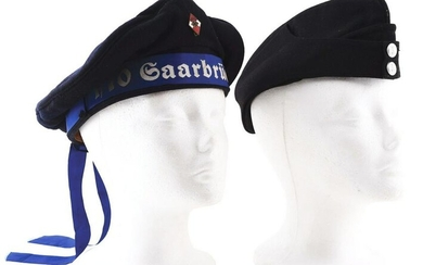 LOT OF 2: THIRD REICH HITLER YOUTH NAVAL CAP AND NSKK