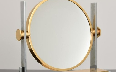 Large Karl Springer Vanity Mirror