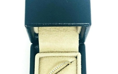 MARTIN KATZ Micro Pave White Diamond 18K Yellow Gold