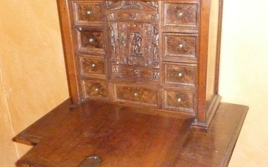 MONETIERE WITH TABLE (2) - Wood - 18th century