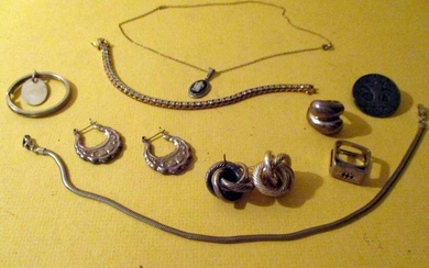 Misc. Lot of Sterling Jewelry