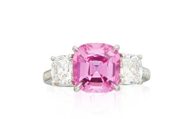 Paolo Costagli | Pink Sapphire and Diamond Ring