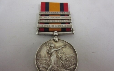 Queens South Africa medal awarded to W. Baxter . DR69913Q'B'...
